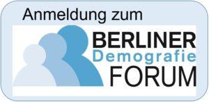 Button - Anmeldung zum Berliner Demografie-Forum